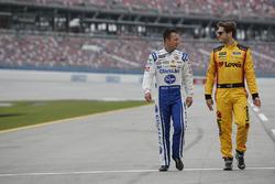 A.J. Allmendinger, JTG Daugherty Racing Chevrolet Landon Cassill, Front Row Motorsports Ford