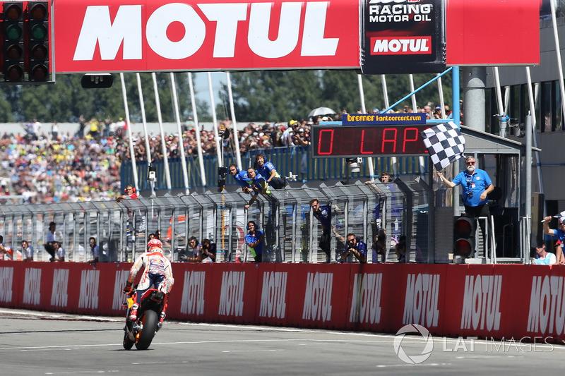 18. Переможець Гран Прі Нідерландів 2018 року: Марк Маркес, Repsol Honda Team