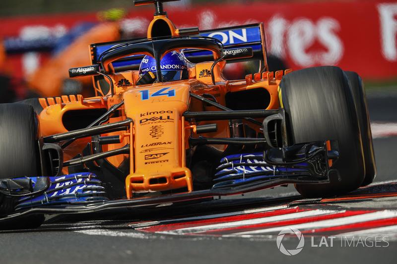 2. Fernando Alonso, McLaren MCL33