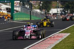Естебан Окон, Force India VJM11, Карлос Сайнс-мол., Renault Sport F1 Team R.S. 18, Ромен Грожан, Haas F1 Team VF-18