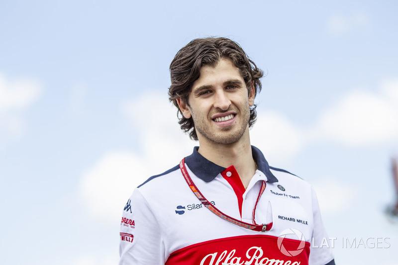 Kandidaat voor een plekje in 2019: Antonio Giovinazzi (Italië)