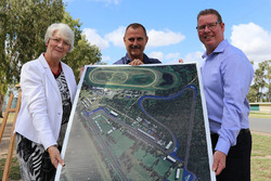 Presentazione del progetto del tracciato di Rockhampton