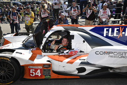 #54 CORE autosport ORECA LMP2, P: Jon Bennett, Colin Braun in Victory Lane.