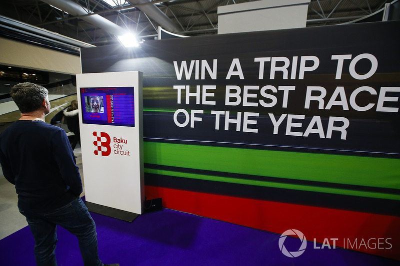 The azerbaijan baku stand at autosport international show for International azerbaijan decor expo