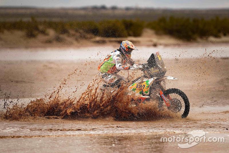 #15 KTM Racing Team: Лайя Санс