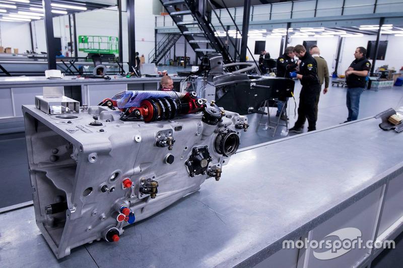 MP Motorsport F2-bolide, detail