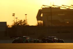 #2 Black Falcon Mercedes-AMG GT3: Abdulaziz Al Faisal, Hubert Haupt, Yelmer Buurman, Gabriele Piana, #60 Lamera Cup: Wilfried Merafina, Pierre Couasnon, Christophe Bouchut, Philippe Marie