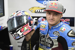 Jack Miller, Estrella Galicia 0,0 Marc VDS with Nicky Hayden number on his helmet