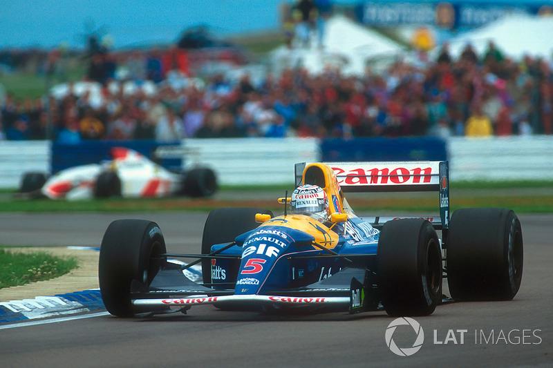 Por pouco o título de Mansell não foi viável: em 90, quando deixou a Ferrari, o inglês havia anunciado aposentadoria da F1. Porém, Frank Williams o convenceu a desistir dos planos e o convidou a voltar à sua equipe.