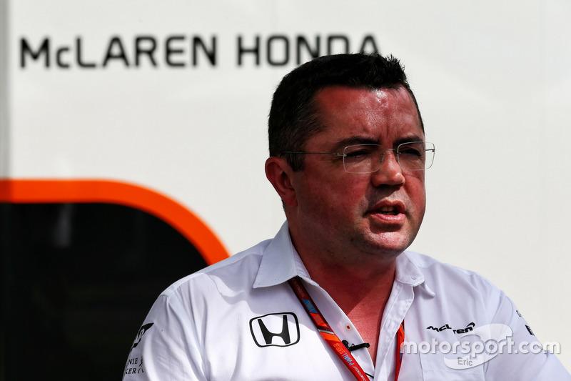 Eric Boullier, jefe de equipo de McLaren