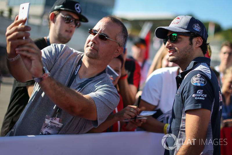 Carlos Sainz Jr., Scuderia Toro Rosso