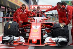 Автомобиль Ferrari SF70H с системой «Щит»