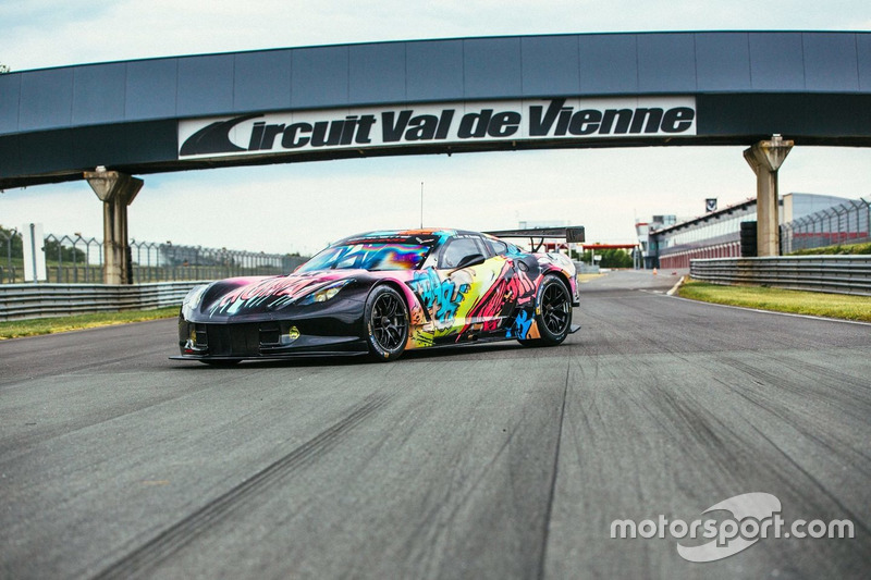 Ливрея Human автомбиля №50 Chevrolet Corvette C7.R команды Larbre Competition