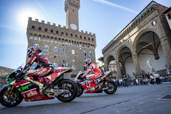 Sam Lowes, Aprilia Racing Team Gresini ve Danilo Petrucci, Pramac Racing