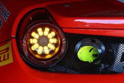Kessel Racing Ferrari 458 Italia GT3, dettaglio posteriore