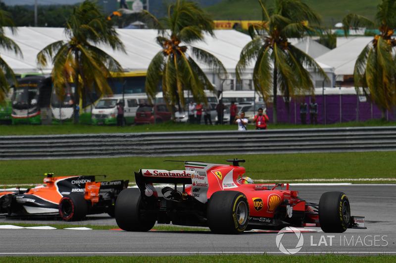 Sebastian Vettel, Ferrari: 20