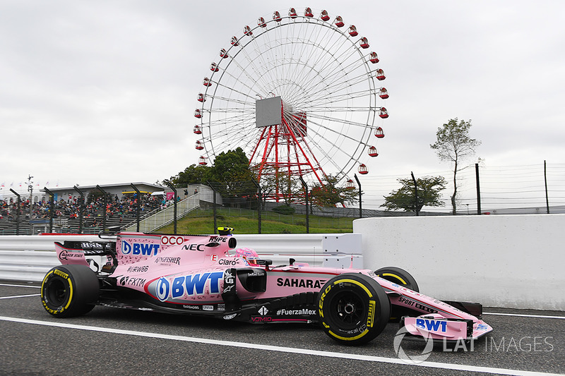 Na F1 desde 2016, Esteban Ocon foi 21º no GP do Japão do ano passado
