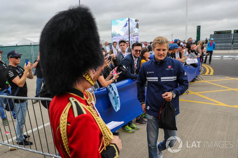 Marcus Ericsson, Sauber y los guardias de Palacio