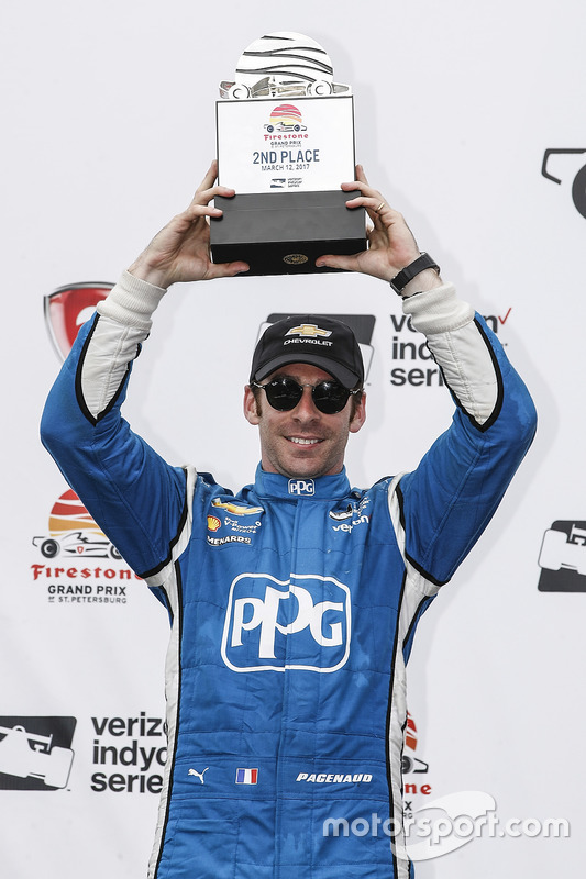 2. Simon Pagenaud, Team Penske, Chevrolet