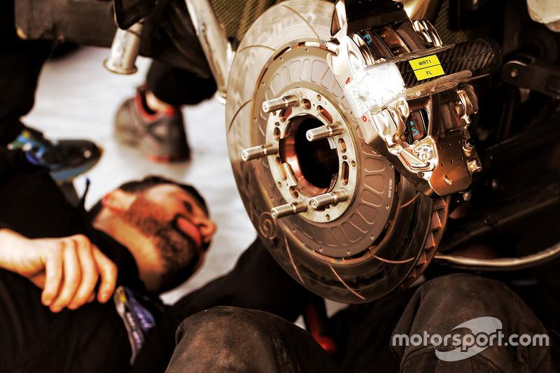M-Sport Ford Fiesta WRC brakes