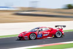 #11 Scuderia Praha Ferrari 488 GT3: Jiri Pisarik, Josef Král, Matteo Malucelli
