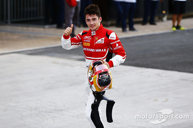 Charles Leclerc, ART Grand Prix World