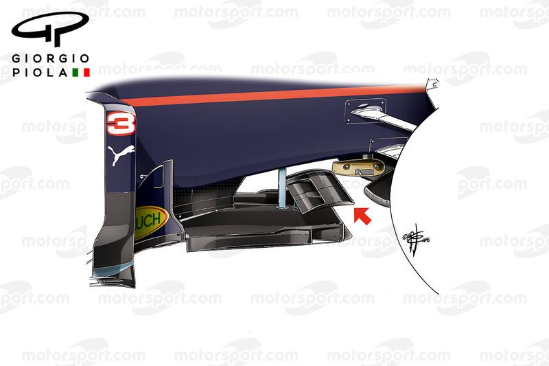 Red Bull RB12: Splitter