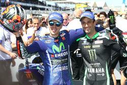 Переможець Маверік Віньялес, Yamaha Factory Racing, друге місце Жоанн Зарко, Monster Yamaha Tech 3