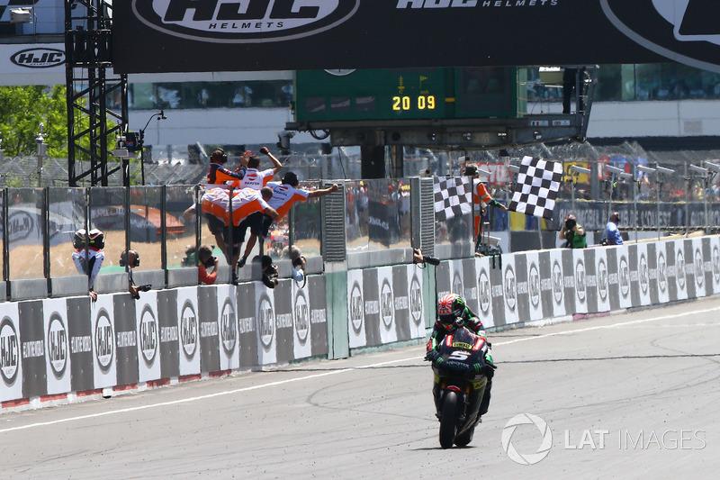 Johann Zarco, Monster Yamaha Tech 3 termine deuxième