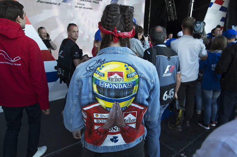 Ayrton Senna fan
