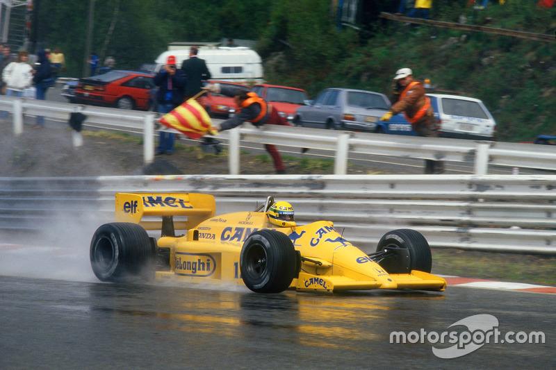 1987: Lotus 99T / Honda