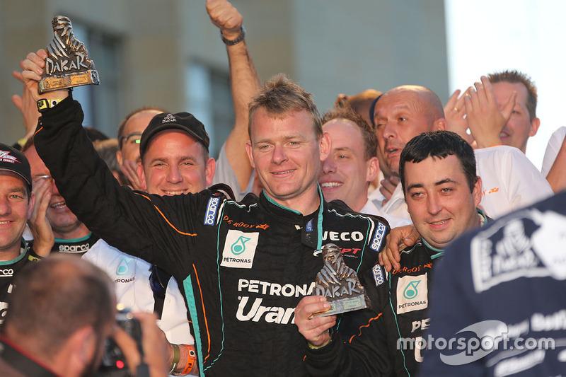 Gerard de Rooy, Team De Rooy en la meta