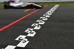 Felipe Massa, Williams FW40 e la linea di partenza/arrivo