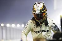Race winnaar Lewis Hamilton, Mercedes AMG F1