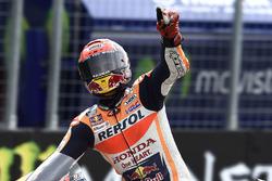 Marc Márquez, Repsol Honda Team, gana la carrera