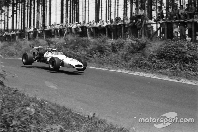 Kurt Ahrens, Brabham-Repco BT24 V8, Nürburgring 1969