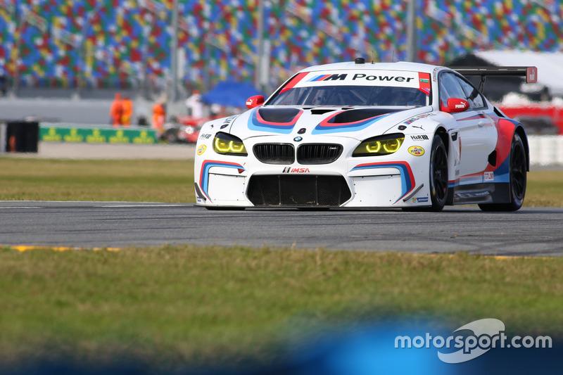 #24 BMW Team RLL BMW M6 GTLM: John Edwards, Martin Tomczyk, Nicky Catsburg, Kuno Wittmer