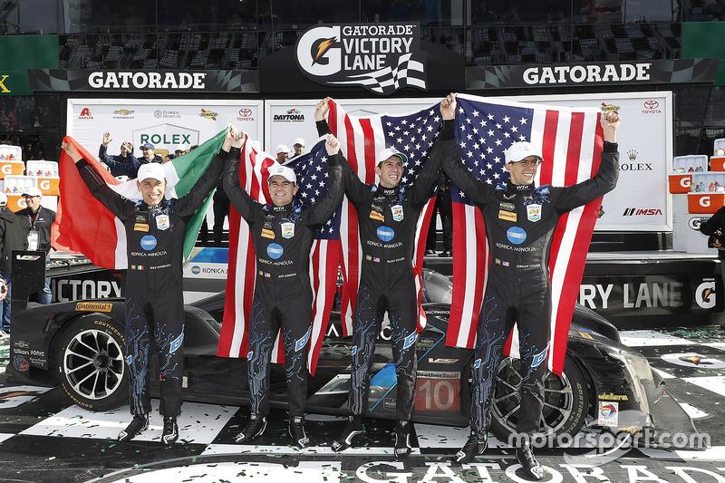 Ganadores, Ricky Taylor, Jordan Taylor, Max Angelelli, Jeff Gordon, Wayne Taylor Racing