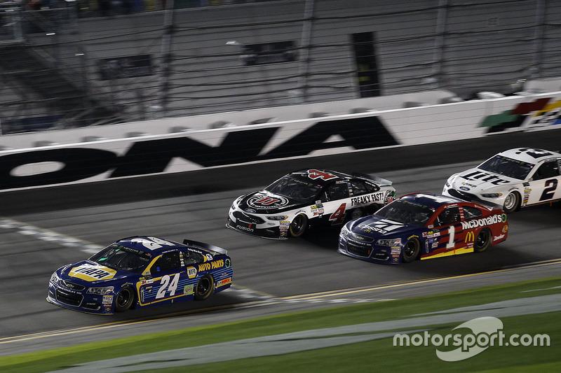 Chase Elliott, Hendrick Motorsports, Chevrolet, führt