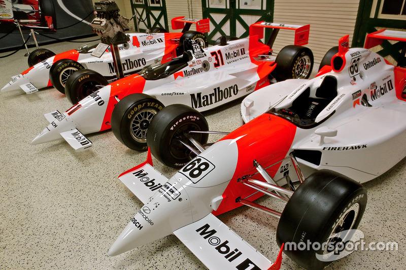 Winning Penske Indy 500 entries