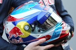 De helm van Max Verstappen, Scuderia Toro Rosso