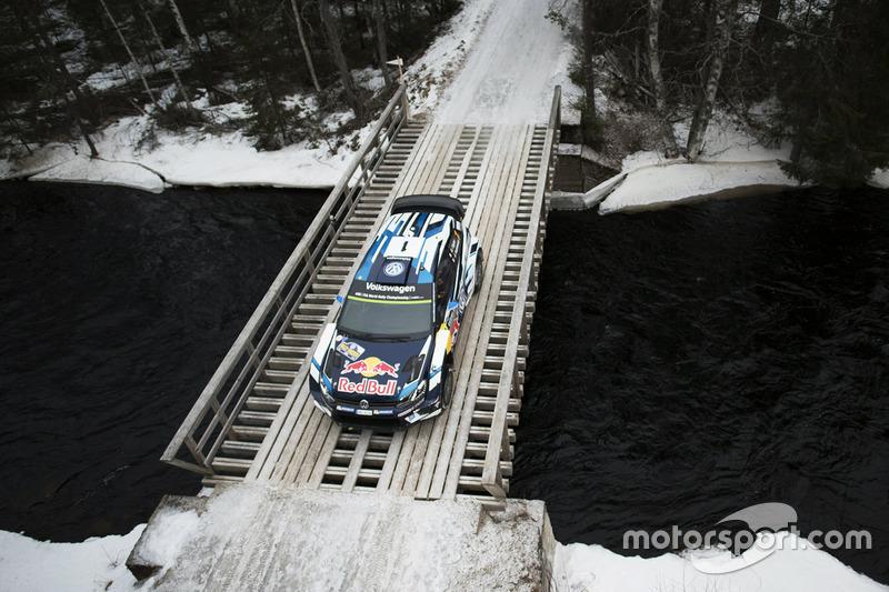 2. Sébastien Ogier, Julien Ingrassia, Volkswagen Polo WRC, Volkswagen Motorsport