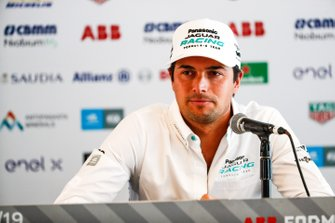 Nelson Piquet Jr., Panasonic Jaguar Racing in the press conference