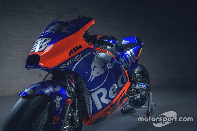 Moto de Miguel Oliveira, Red Bull KTM Tech 3