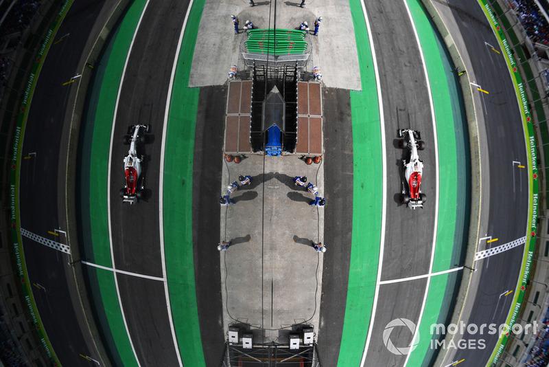 6º Sauber con Marcus Ericsson: 2,56 segundos