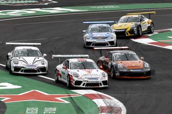 Philip Hamprecht, Lechner Racing Middle East, Jaap van Lagen, FACH AUTO TECH, Mikkel Overgaard Pedersen, MRS GT-Racing