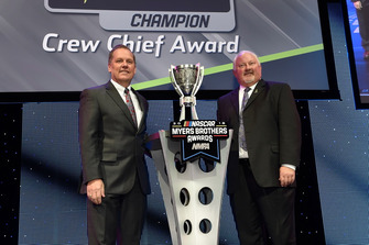 Monster Energy NASCAR Cup Series Champion Crewchief Award: Todd Gordon, Team Penske
