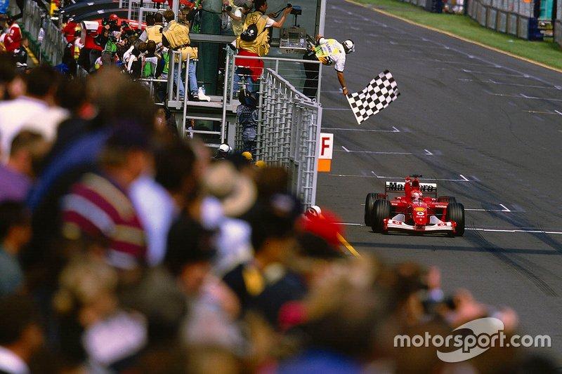 54勝目:2002年オーストラリアGP