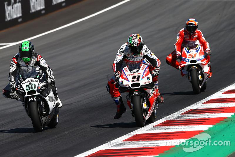 Danilo Petrucci, Pramac Racing, Eugene Laverty, Aspar Racing Team, Michele Pirro, Ducati Team