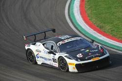 Del Prete-Caso, Victoria Speed M, Ferrari 458 Challenge Evo-GTCup #160